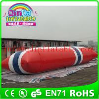 Inflatable Aqua launch PVC inflatable water games inflatable water tower Manufactures