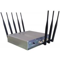 China Omni Directional Cell Phone Signal Jammer with UPS battery For Schools , 210*50*185mm on sale