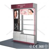 Stylish design standing cosmetic cabinet showcase