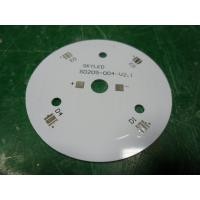 Customized Round LED Bulb PCB 1oz / 2oz / 3oz Single Layer Aluminum PCB Boards Manufactures