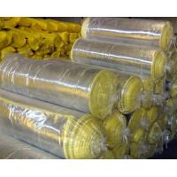 China xcellent Fireproof Fiber Glass Wool Blanket With Aluminum Foil Clad on sale