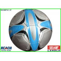 China Customizable Silver Metallic Soccer Ball Size 1 with 4 CMYK Full Printing on sale
