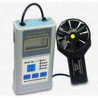 AM-4836 Air Velocity And Air Temperature Measurement LCD Display Digital Anemometer With Data Hold Function Manufactures