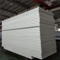 white color sheet 0.326 insulated eps sandwich panel 11900x1150x75mm for office Manufactures