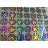 3D Round Shaped Hologram Seal Stickers Body Building Steroids Packaging Manufactures