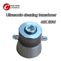 China 40k 50w Piezoelectric Ultrasonic Transducer Stainless Steel Material TUV on sale