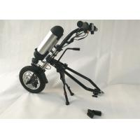 Stainless Frame Electric Wheelchair Conversion Kit With 36V 250W Hub Motor for sale