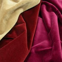 China 100% cotton velvet fabric for garment on sale