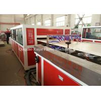 PVC Wood Plastic Door Making Machine Easy Operation High Production Efficiency Manufactures