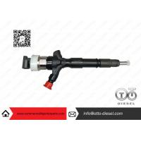 Toyota Engine Common Rail Injector Parts Denso Diesel Injector 23670-0L050 Manufactures