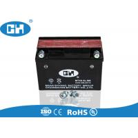 China AGM Separator 125cc Motorcycle Battery 12v 6.5Ah  Big Capacity Corrosion Resistant on sale
