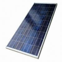 Quality Polycrystalline Solar Panel Module, Measures 1,482 x 676 x 35mm, with 130W Maximum Power for sale