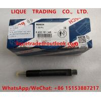 China BOSCH fuel injector 0 432 191 345 , 0432191345 ,  432 191 345 for Deutz engine on sale