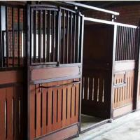 Durable Horse Stall Panels 100% Natural Bamboo Material Customized Color Manufactures