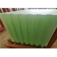 China Solar Energy Ultra Clear Tempered Glass Textured Solid Structure 3.2mm 4mm Thickness on sale