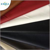 Synthetic Faux Leather Upholstery Fabric Embossed Surface Treatment Durable Manufactures