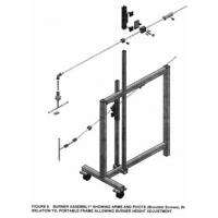 Simple Operation Flammability Testing Equipment For Furniture Components Manufactures