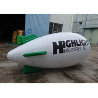 China Inflatable White Blimps Airship Zeppelin With Custom Logo Print, Helium Balloon on sale