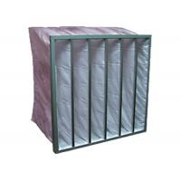 Commercial Building Pocket Air Filter Performance , F5 F6 F7 F8 Efficiency Manufactures