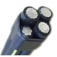 China 0.6/1kV Overhead Aluminum Wire , XLPE Insulated ABC Cable Copper Aluminum Conductor on sale