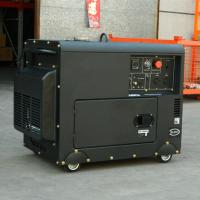 China Home use  super silent 5kw  diesel generator electric start air cooling for factory price on sale