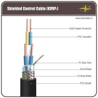 Solid Copper Core PVC Insulation / Sheathing And TC Braided Shield Control Cable Manufactures