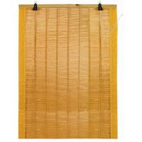 Colorful Bamboo Window Blinds / Bamboo Roll Up Blinds For Home Bathroom Manufactures