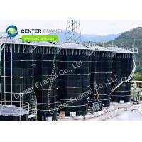 Super Corrosion Resistance Glass Fused To Steel Waste Water Storage Tanks For WWTP Manufactures