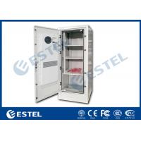 Four Point Lock Outdoor Power Cabinet , Galvanized Steel Outdoor Electrical Enclosure Manufactures