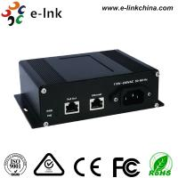 Industrial Gigabit Power Over Ethernet Injector with AC Power Input Manufactures