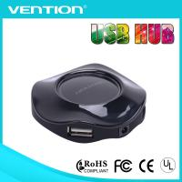China 2.0 USB Hub Charger Standard 4 Port Black High Speed for Cell Phone & Tablet PC / Camera on sale