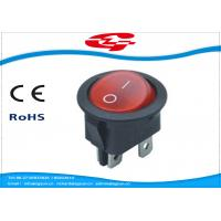 ON OFF 4 Terminals Electrical Rocker Switches 6A 250V AC Manufactures
