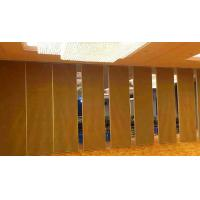 Sound Insulation Movable Track Folding Sliding Partition Wall Easy Operated Manufactures