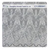 Antique Decorative Eyelash Embroidered Wide Stretch decorative Lace Trim Fabric Manufactures
