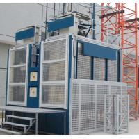 Electrical 2 cages Construction Material Hoist C gate for Buildings with CE Manufactures