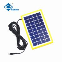 9V 3W solar panel photovoltaic for solar power system ZW-3W-9V-1 Glass Laminated Solar Panel Manufactures
