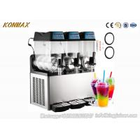 Commercial Stainless Steel Ice Slush Machine 12 Liters Granita Machine Manufactures