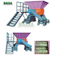 11 - 37KW Power Scrap Metal Shredder Over Load Protection With Strong Crushing Capacity Manufactures