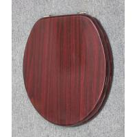 China bordeaux wooden toilet seats wood toilet seat cover on sale