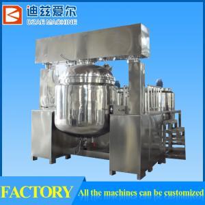1000L vacuum homogenizing emulsifying mixer, equipment for cosmetics, liquid soap, shampoo Manufactures