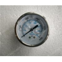 63mm All Stainless Steel Liquid Filled Glycerin Pressure Gauge with Roll Ring Bezel Manufactures