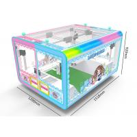 China 4 Players Toy Crane Machine , Colorful Light Transformation Candy Claw Machine on sale