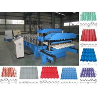 Aluminium Roofing Tile Roll Forming Machine roof sheet making machine steel roof tile forming machine Manufactures