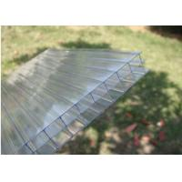 China Hollow Greenhouse Sheeting Polycarbonate Roofing Panel Sheeting Sound on sale