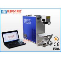 30W / 50W Hand Engraving Machine For Metal  Data Laser Matrix Printer Manufactures