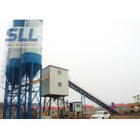 China High Accuracy Ready Mix Concrete Plant Equipment With Js500 Concrete Mixer on sale