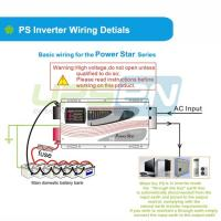 Intelligent Pure Sine Wave 4000W 5000W Power Inverter with AC Input as Priority Manufactures