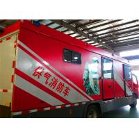 Multi Functional Gas Supply Fire Truck Rated Output Power 50KW Generator Manufactures
