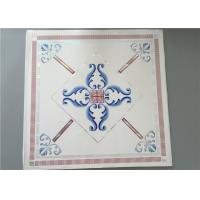 China High Intensity White PVC Ceiling Tiles For Bathrooms Various Colors / Patterns on sale