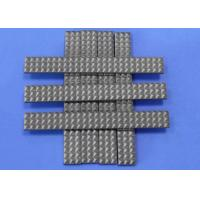 China Crusher Toothed Alloy Strip Tungsten Carbide Strips For Feed Crushing Operations on sale